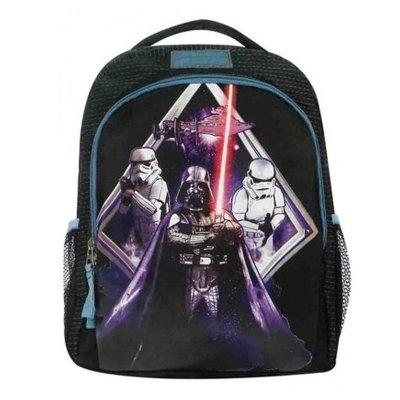 Mochila negra 35cm Star Wars Darth Vader Stormtroopers