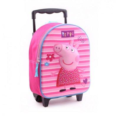 Mochila Trolley Peppa Pig 31cm