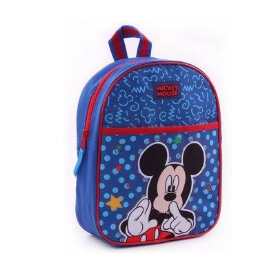 Mochila infantil azul Mickey Mouse 29cm