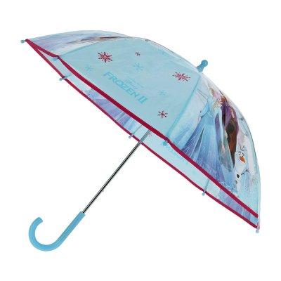 Paraguas semitransparente manual Frozen II 62cm