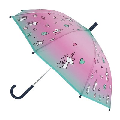 Paraguas manual Unicornio 62cm