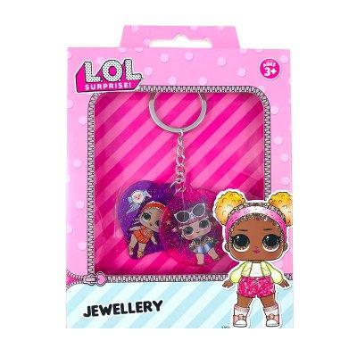 Set de llavero Glitter LOL Surprise Jewellery