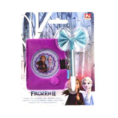 Diario c/candado y bolígrafo Frozen 2 Disney