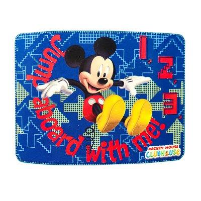 Manta polar Mickey Jump 120x140cm - azul