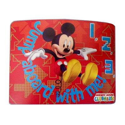 Manta polar Mickey Jump 120x140cm - rojo