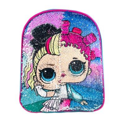 Wholesaler of Mochila infantil lentejuelas LOL Surprise Girls - azul