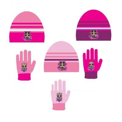 Set gorro guantes LOL Surprise 3 modelos