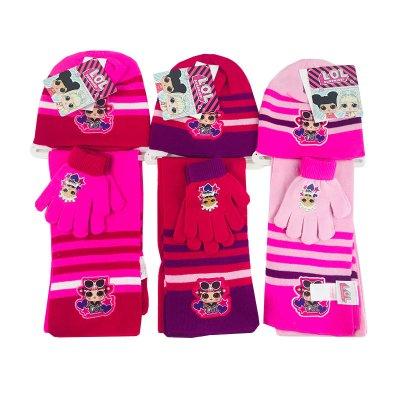 Wholesaler of Set gorro bufanda guantes LOL Surprise Girls