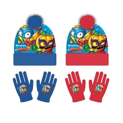 Set gorro y guantes Superzings