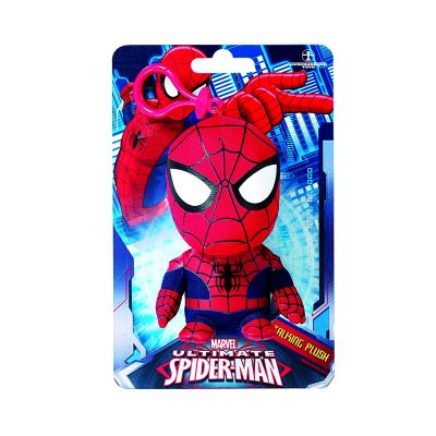 Llavero peluche con sonido Ultimate Spiderman Marvel