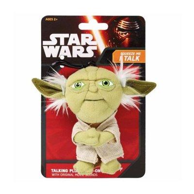 Llavero peluche con sonido Yoda Star Wars Episodio VII 11cm