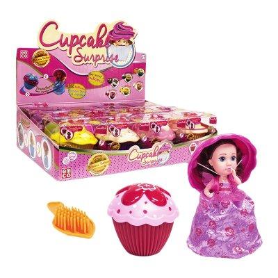 Expositor 12 muñecas Cupcake Surprise Doll Princess Edition