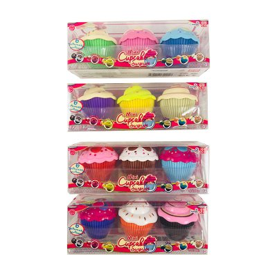Wholesaler of Coleccionables Mini Cupcake Surprise 4 modelos