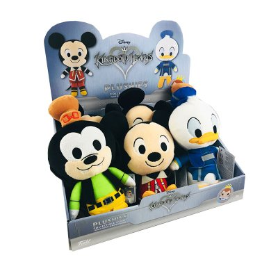 Expositor Peluches Kingdom Hearts