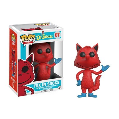 Figura Funko POP! Vynil 07 Fox in socks Dr.Seuss