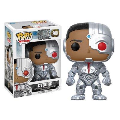 Figura Funko POP! Vynil 209 Cyborg DC Liga de la Justicia