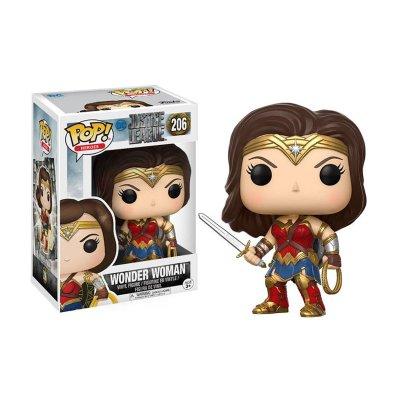 Figura Funko POP! Vynil 206 Wonder Woman DC Liga de la Justicia