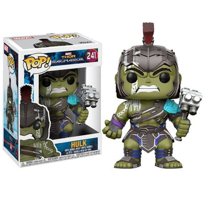 Figura Funko POP! Vynil Bobble 241 Hulk Gladiador Thor Ragnarok