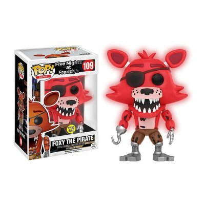 Figura Funko POP! Vynil 109 FNAF Foxy Pirata (Ed Limitada)
