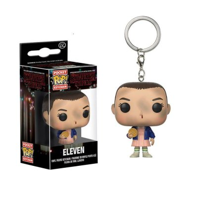 Llavero Pocket Funko POP! Keychain Stranger Things Eleven c/Eggos