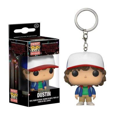 Llavero Pocket Funko POP! Keychain Stranger Things Dustin
