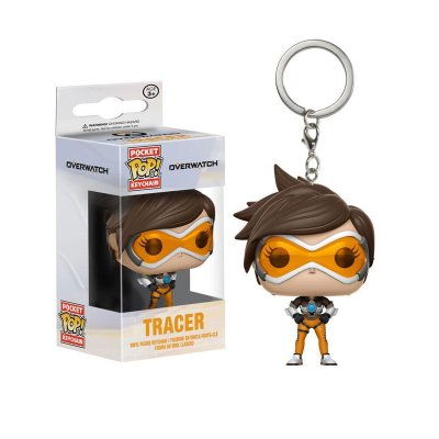 Llavero Pocket Funko POP! Keychain Overwatch Tracer