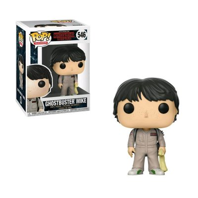 Figura Funko POP! Vynil 546 Mike Cazafantasmas Stranger Things