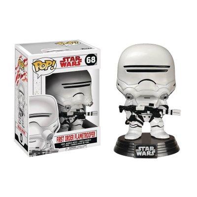 Figura Funko POP! Vynil Bobble 68 Star Wars First Order Flametrooper
