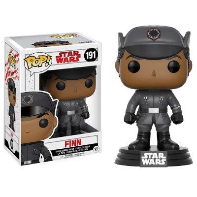 Figura Funko POP! Bobble 191 Finn Star Wars Episodio VIII