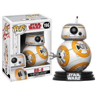 Figura Funko POP! Bobble 196 BB-8 Star Wars Episodio VIII