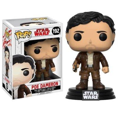 Figura Funko POP! Bobble 192 Poe Dameron Star Wars Episodio VIII