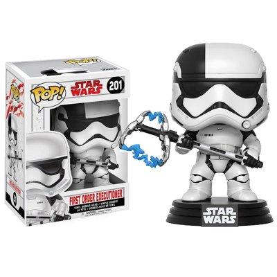 Figura Funko POP! Bobble 201 Ejecutor Primera Orden Star Wars Episodio VIII