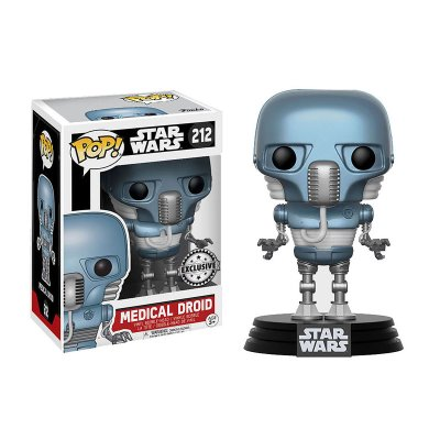 Figura Funko POP! Vynil Bobble 212 Star Wars Medical Droid (Ed.Limitada)