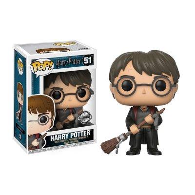Figura Funko POP! Vinyl 51 Harry Potter c/escoba Harry Potter (Ed.Limitada)