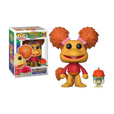 Figura Funko POP! Vynil 519 Fraggle Rock Red c/Doozer