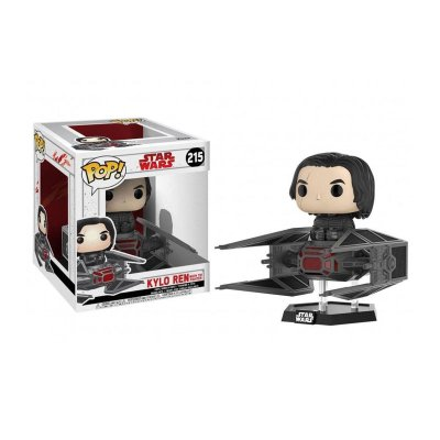 Figura Funko POP! Vynil 215 Star Wars Kylo Ren c/ Tie Fighter