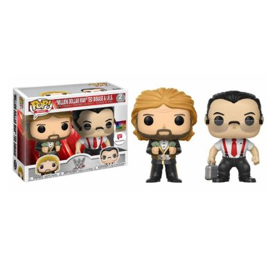 Pack 2 Funko POP! Vinyl WWE IRS & Million Dolar Man (Ed Limitada)