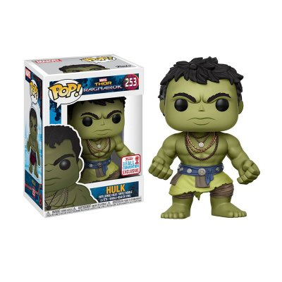 Figura Funko POP! Vynil 253 Hulk Thor Ragnarok (Ed Limitada)