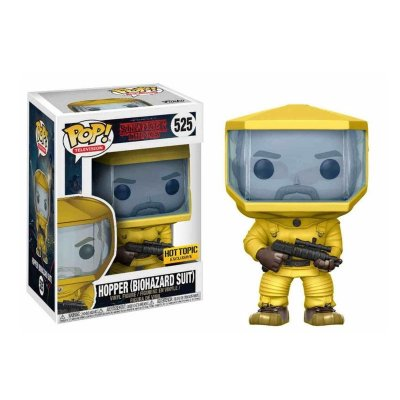 Figura Funko POP! Vynil 525 Hopper c/Biohazard Suit Stranger Things (Ed.Limitada)