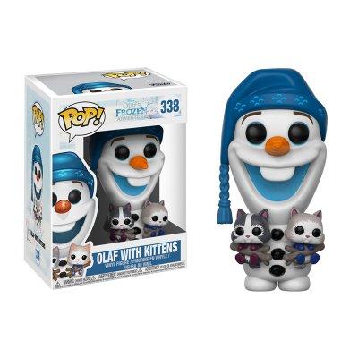 Figura Funko POP! Vynil 338 Olaf con Gatitos Frozen