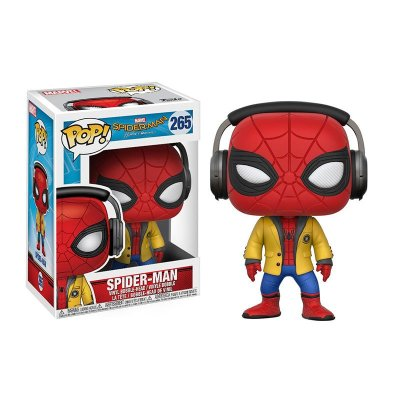 Figura Funko POP! Vynil Bobble 265 Marvel Homecoming Spiderman cascos
