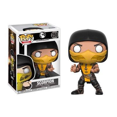 Figura Funko POP! Vynil 250 Scorpion Mortal Kombat X