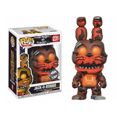 Figura Funko POP! Vynil 231 FNAF Jack-O-Bonnie (Ed.Limitada)