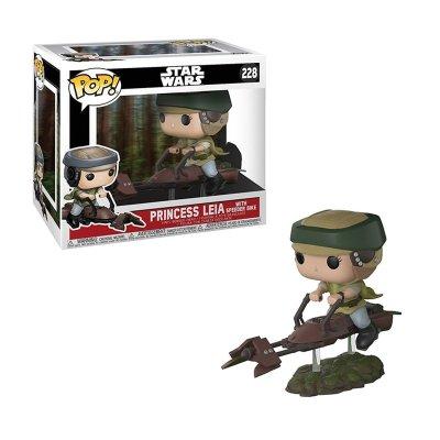 Figura Funko POP! Vynil 228 Princesa Leia c/speeder bike Star Wars