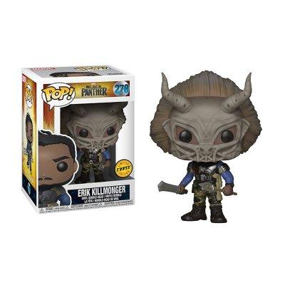 Figura Funko POP! Vynil Bobble 278 Erik Killmonger Pantera Negra (Ed.Chase)