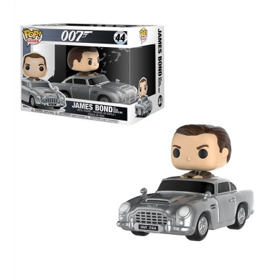 Figura Funko POP! Vynil 44 James Bond c/Aston Martin 007