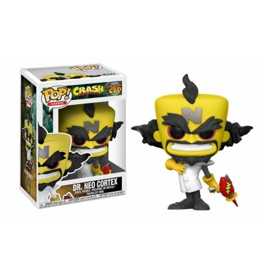 Figura Funko POP! Vynil 276 Dr. Neo Cortex Crash Bandicoot