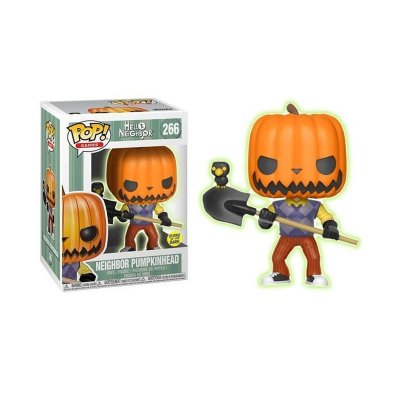 Figura Funko POP! Vynil 266 Pumpkinhead Hello Neighbor (Ed.Limitada)