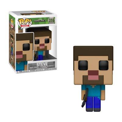 Figura Funko POP! Vynil 316 Steve Minecraft
