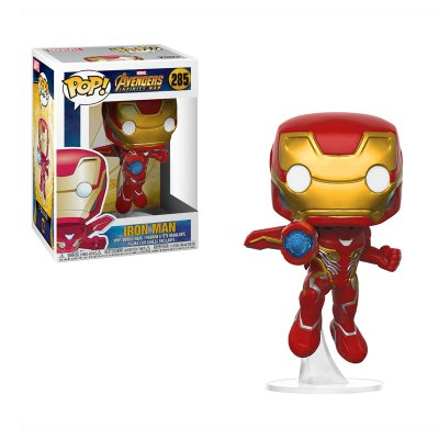Figura Funko POP! Vynil Bobble 285 Los Vengadores Infinity War Iron Man